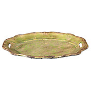 Picture of Gian Crackled Green Ceramic Tray