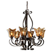 Picture of Vetraio 6-Light Oil Rubbed Bronze Chandelier