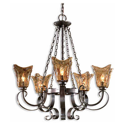 Picture of Vetraio 5-Light Oil Rubbed Bronze Chandelier