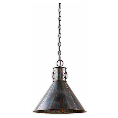 Picture of Levone 1 Light Oxidized Bronze Pendant