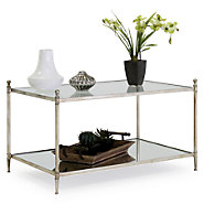 Picture of Gannon Mirrored Glass Coffee Table