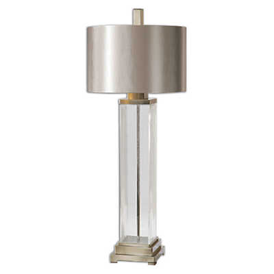 Picture of Drustan Clear Glass Table Lamp
