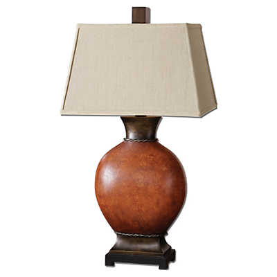 Picture of Suri Brunished Red Table Lamp