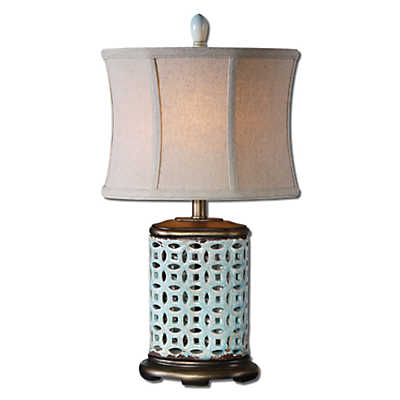 Picture of Rosignano Blue Buffet Lamp