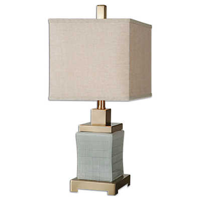 Picture of Cantarana Pale Blue Gray Lamp