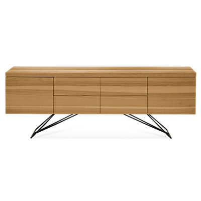 "Picture of Zen 75"" Buffet with Steel Base"