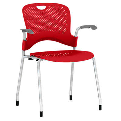 Picture of Caper Stacking Chair, Molded Seat