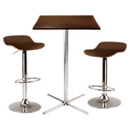 Picture of Ludlow 3-Piece Square Pub Table Set