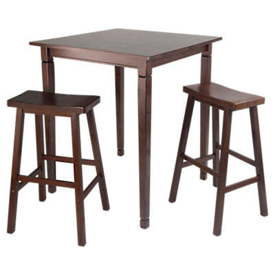 Picture of Stockton 3-Piece High Table Set with Saddle Stools