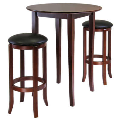 Picture of Dominique 3-Piece High Table Set with Round Stools