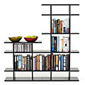 4' Wide 2-Tier Bookshelf