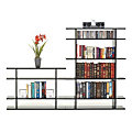 6' Wide Tiered Bookshelf 0406s008