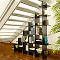 6' Wide Trilogy Staircase Shelf