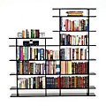6' Wide 2-Tier Bookshelf