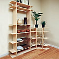 6' Tall Dining Room Contour Shelf