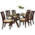 Chester 7 Piece Rectangular Dining Table Set
