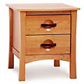 Berkeley 2-Drawer Nightstand
