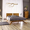 Astrid King Bedroom Set in Cherry