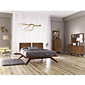 Astrid King Bedroom Set in Walnut