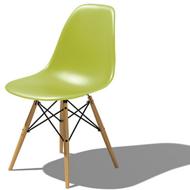 Eames Dowel Leg Side Chair