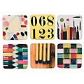 Eames Coasters, Set of 6