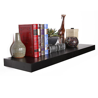 Floating Wall Shelf 24 48 Inches Wide Wall Shelves