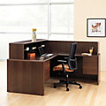 10700 Series L-Shaped Reception Desk 1