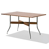 Swag Leg Rectangular Dining Table