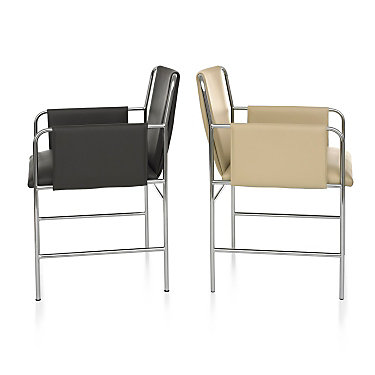 Ward Bennett Envelope Chair by Geiger from Herman Miller