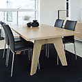 Skovby Rectangle Extending Dining Table SM 13