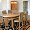 Skovby Oval Expanding Dining Table SM 14