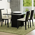 Skovby Rectangular Extending Dining Table SM 35