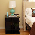 2' Wide Square Bedside Table