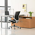 Voi L-Shaped Desk with Layering Shelf