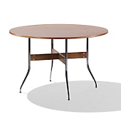 Swag Leg Round Dining Table
