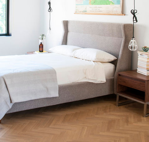 Contemporary eclectic bedroom for Modern eclectic furniture
