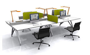 EYHOV Quad Desk System