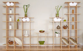 10ft Wide 3-Tier Smart Shelves