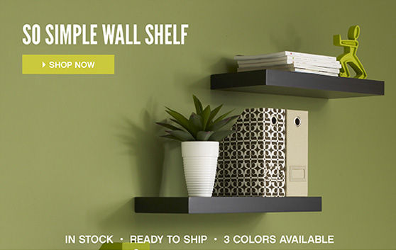 So Simple Wall Shelf