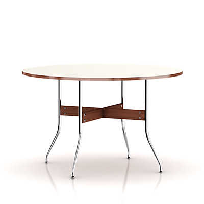 Picture of Herman Miller Nelson Swag Leg Round Dining Table