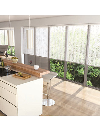 Roller Shades - Vines White