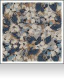 "DF00014|Circumstance Azure- 54"" wide|100% Polyester|Floral|Medium"