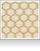 "DF00261 Berkus Saffron- 52"" wide 65% Cotton, 35% Polyester Geometric Medium"