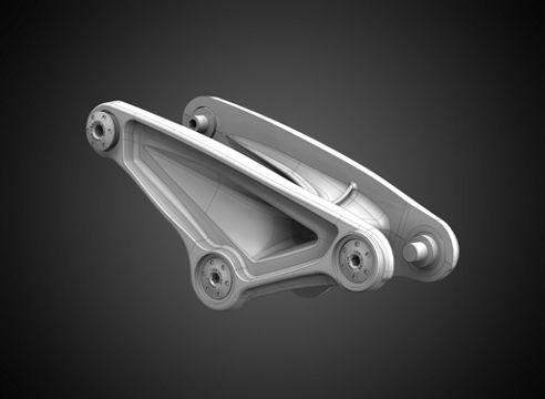 EVO Link - Un basculante más fuerte y ligero