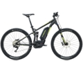 Trek Powerfly+ FS 7 500W Matte Dnister Black Gloss Volt Green