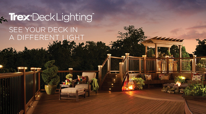 Trex Deck Lighting. See your deck in a different light.