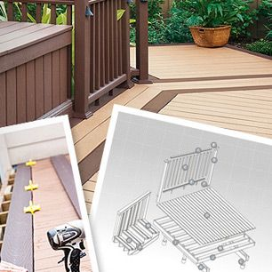 How to build a deck step by step building a deck trex for How do you build a deck yourself