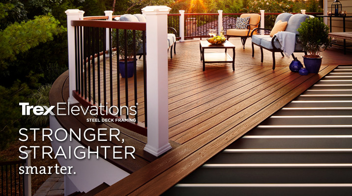 Composite decking wood alternative decks boards trex