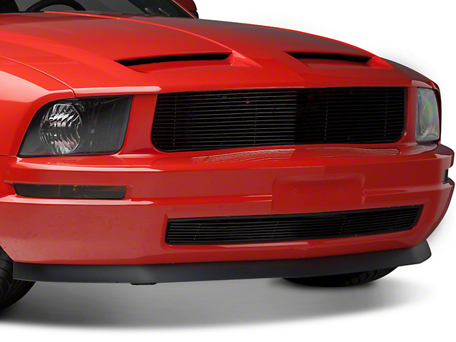 Modern Billet Black Retro Billet Grille (05-09 V6)