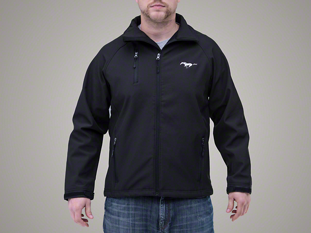 Ford Mustang Soft Shell Jacket - Black